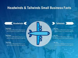 Headwinds And Tailwinds Small Business Facts