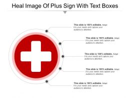 Heal Image Of Plus Sign With Text Boxes