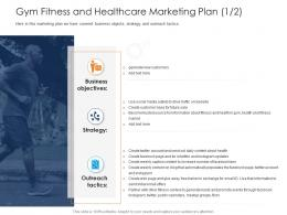 Health And Fitness Clubs Industry Gym Fitness And Healthcare Marketing Plan Health Ppt Ideas