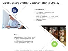 Health And Fitness Industry Digital Marketing Strategy Customer Retention Strategy Ppt Slides