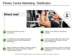 Health And Fitness Industry Fitness Centre Marketing Distribution Ppt Powerpoint Presentation Gallery
