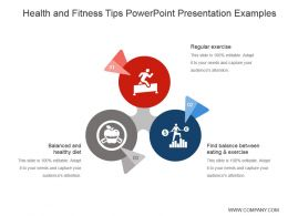 Health And Fitness Tips Powerpoint Presentation Examples