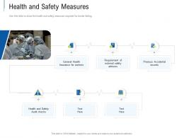 Health And Safety Measures Tender Response Management Ppt Powerpoint Presentation Layouts