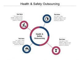 Health And Safety Outsourcing Ppt Powerpoint Presentation Layouts Master Slide Cpb