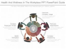 Health And Wellness In The Workplace Ppt Powerpoint Guide