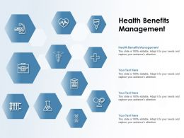 Health Benefits Management Ppt Powerpoint Presentation Gallery Picture