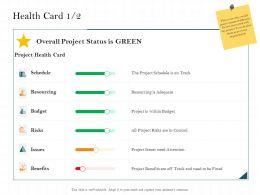 Health Card Budget M2481 Ppt Powerpoint Presentation Visuals