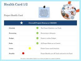 Health Card Resourcing Ppt Powerpoint Presentation Portfolio Mockup