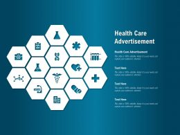 Health Care Advertisement Ppt Powerpoint Presentation Gallery Background Image
