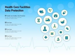 Health Care Facilities Data Protection Ppt Powerpoint Presentation Inspiration Backgrounds