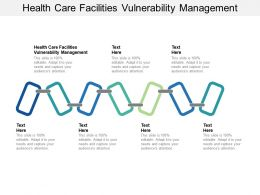 Health Care Facilities Vulnerability Management Ppt Powerpoint Model Show Cpb