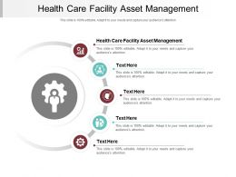 Health Care Facility Asset Management Ppt Powerpoint Presentation Show Background Image Cpb
