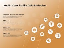 Health Care Facility Data Protection Ppt Powerpoint Presentation Infographic Template