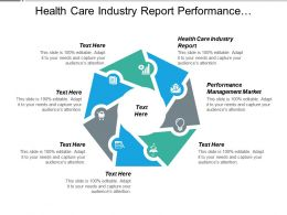 Health Care Industry Report Performance Management Market Business Environment Cpb