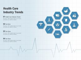 Health Care Industry Trends Ppt Powerpoint Presentation Summary Background Images