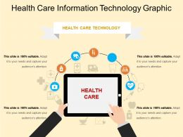 Health Care Information Technology Graphic