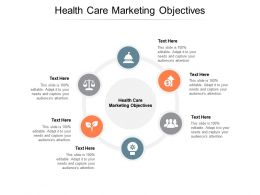 Health Care Marketing Objectives Ppt Powerpoint Presentation Pictures Examples Cpb