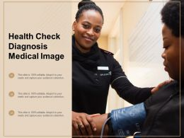 Health Check Diagnosis Medical Image