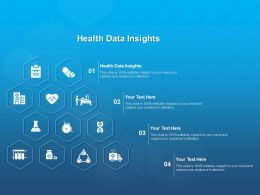 Health Data Insights Ppt Powerpoint Presentation Inspiration Structure