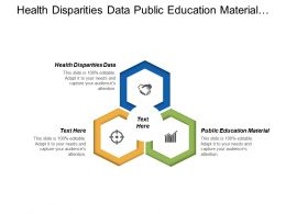 Health Disparities Data Public Education Material Practice Guidelines Cpb