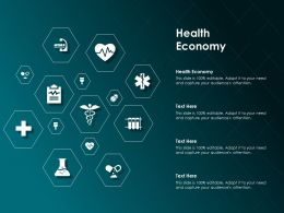 Health Economy Ppt Powerpoint Presentation Ideas Templates