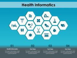 Health Informatics Ppt Powerpoint Presentation Inspiration Layout