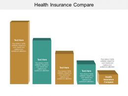 Health Insurance Compare Ppt Powerpoint Presentation Slides Download Cpb