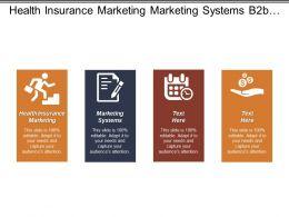 Health Insurance Marketing Marketing Systems B2b Advertising Marketing System Cpb