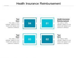 Health Insurance Reimbursement Ppt Powerpoint Presentation Professional Templates Cpb