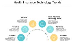 Health Insurance Technology Trends Ppt Powerpoint Presentation Infographic Template Grid Cpb