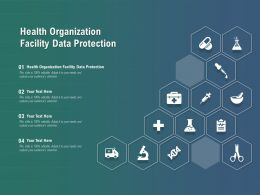 Health Organization Facility Data Protection Ppt Powerpoint Presentation Pictures