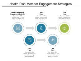 Health Plan Member Engagement Strategies Ppt Powerpoint Presentation Portfolio Cpb