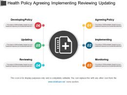 Health Policy Agreeing Implementing Reviewing Updating