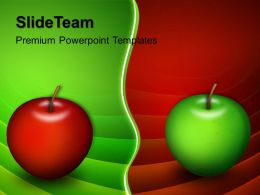 Health Powerpoint Templates Free Apples Choices Business Ppt Slide