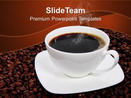 Health Powerpoint Templates Free Coffee Beans Entertainment Business Ppt Design