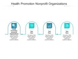 Health Promotion Nonprofit Organizations Ppt Powerpoint Presentation Gallery Graphics Design Cpb