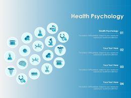 Health Psychology Ppt Powerpoint Presentation Ideas Background Designs