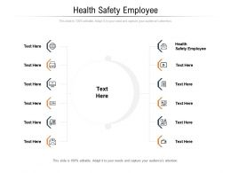 Health Safety Employee Ppt Powerpoint Presentation Summary Example File Cpb
