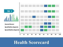 Health Scorecard Ppt Summary Display