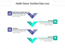 Health Sector Facilities Data Loss Ppt Powerpoint Presentation Summary Clipart Cpb