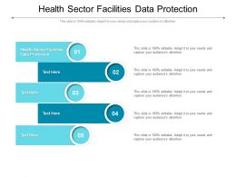 Health Sector Facilities Data Protection Ppt Powerpoint Presentation Infographic Template Backgrounds Cpb