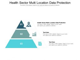 Health Sector Multi Location Data Protection Ppt Powerpoint Presentation Pictures Example Cpb