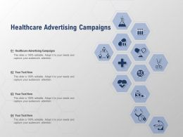Healthcare Advertising Campaigns Ppt Powerpoint Presentation Summary Tips