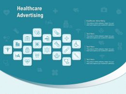 Healthcare Advertising Ppt Powerpoint Presentation Summary Picture