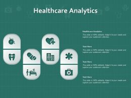 Healthcare Analytics Ppt Powerpoint Presentation Styles Graphic Images