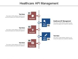 Healthcare API Management Ppt Powerpoint Presentation Infographics Graphics Download Cpb