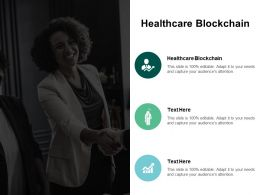 Healthcare Blockchain Ppt Powerpoint Presentation Styles Example File Cpb