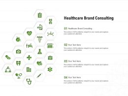 Healthcare Brand Consulting Ppt Powerpoint Presentation Professional Format Ideas