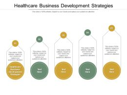 Healthcare Business Development Strategies Ppt Powerpoint Presentation Model Example Cpb
