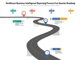 Healthcare Business Intelligence Reporting Process Four Quarter Roadmap
